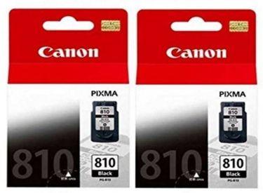 Canon Pixma 810 Black Ink Cartridge (Twin Pack)