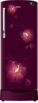 Samsung RR20M282YR3/RR20M182YR3/U3 192 L 4 Star Inverter Direct Cool Single Door Refrigerator (Rose Mallow)