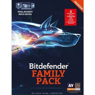Bitdefender Total Security 2017 5 PC 3 Year Antivirus (Activation Key)