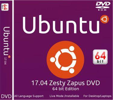 Ubuntu 17.04 64 Bit Operating System