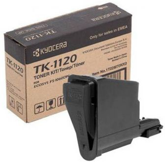 Kyocera TK-1120 Black Toner Cartridge