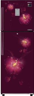 Samsung RT28M3954R3/U3 253 L 4 Star Inverter Frost Free Double Door Refrigerator (Rose Mallow Plum)