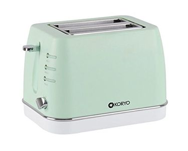 Koryo KPT1368BCG 2 Slice Pop up Toaster