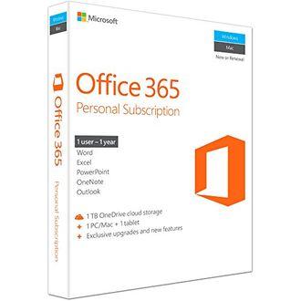 Microsoft Office 365 Personal 1 User 1 Year (32/64-bit) Key