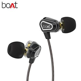 Boat Nirvanaa Duo Dual Drivers In-Ear Headset