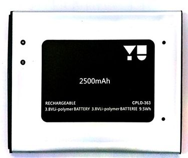 Micromax 2500mAh Battery (For Yu yureka)