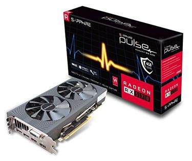 Sapphire Pulse Radeon RX 570 4GB DDR5 Graphic Card