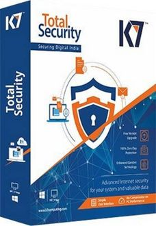 K7 Total Security 2018 Antivirus 1 PC 3 Year Antivirus