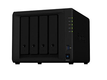Synology DiskStation DS418 Diskless Network Attached Storage Device