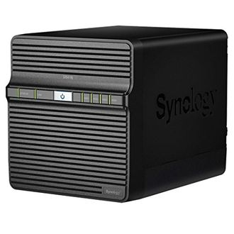 Synology DiskStation DS418J Diskless Network Attached Storage Device