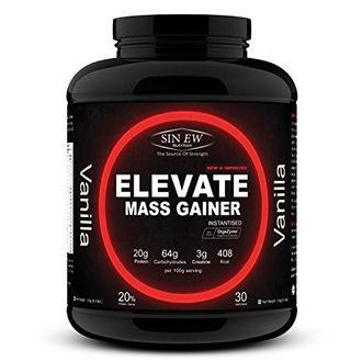 Sinew Nutrition Elevate Mass Gainer (3kg, Vanilla)