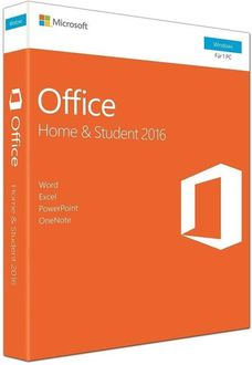 Microsoft Office 2016 Home & Student For Windows (Key Only)