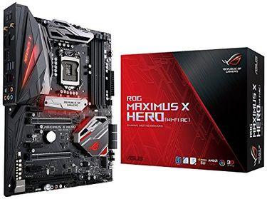 Asus ROG Maximus X Hero (Wi-Fi AC) DDR4 Motherboard