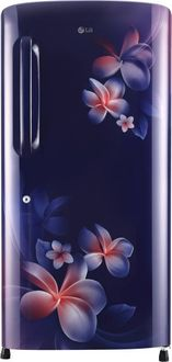 LG GL-B221ABPX 215 L 4 Star Inverter Direct Cool Single Door Refrigerator (Plumeria)