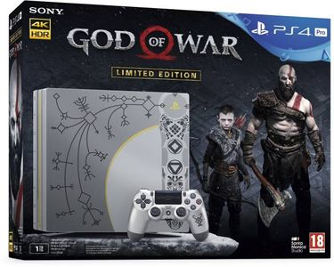 Sony PS4 Pro 1TB Gaming Console (With God Of War)