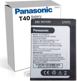 Panasonic T40 1500mAh Battery