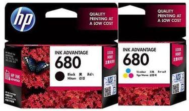 HP 680 (X4E78AA) Tricolor Ink Cartridge combo