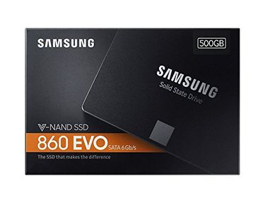 Samsung 860 EVO (MZ-76E500BW) 500GB Internal SSD