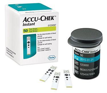 Accu-Chek Instant Test Strips (50 Strips)