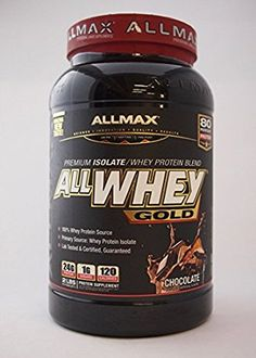AllMax Nutrition All Whey Gold Protein (907gm, Chocolate)