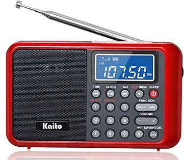 Kaito KA108 FM Radio