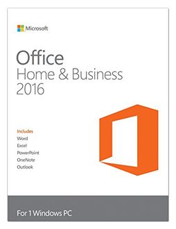 Microsoft Office Home and Business 2016 1 PC Windows (Key Only)