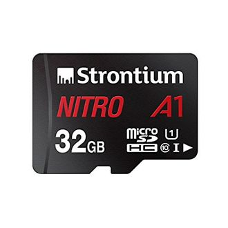 Strontium Nitro A1 32GB Micro SDHC Class 10 (100MB/s) Memory Card (With Adapter)