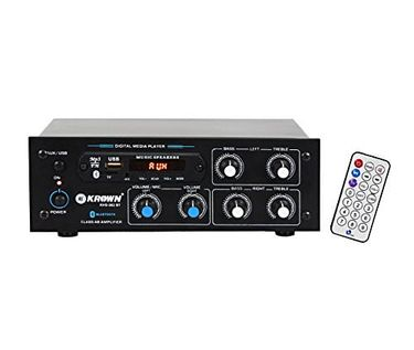 Krown KHS-302BT 2 Channel Stereo Sound Amplifier