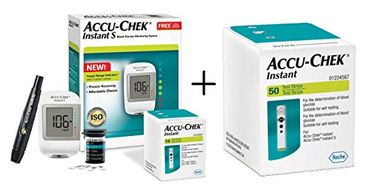 Accu-Chek Instant S Blood Glucose Monitor (With Instant 50 Strips)