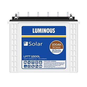 Luminous Solar LPTT12100L 100Ah Tall Tubular Battery