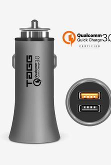 Tagg Roadster 3.0 A USB Car Charger