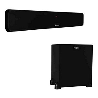 Philips DSP 475 Sound Bar Speakers
