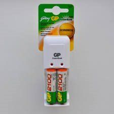 Godrej Charger (with 2xAA 2100mAh Rechargeable Batteries)