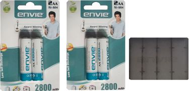 Envie 4 X AA 2800 Rechargeable Battery