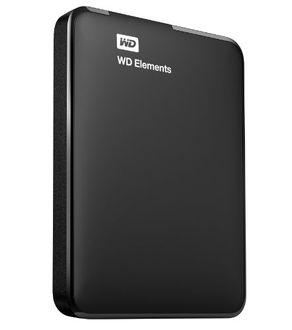 WD Elements Portable 1 TB USB 3.0 External Hard Disk