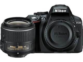 Nikon D5300 DSLR Camera (AF-P DX 18-55mm f/3.5-f/5.6G VR Kit Lens)