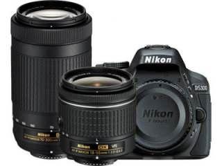 Nikon D5300 DSLR Camera (AF-P DX 18-55mm f/3.5-f/5.6G VR and AF-P DX 70-300mm f/4.5-f/6.3G ED VR Kit Lens)