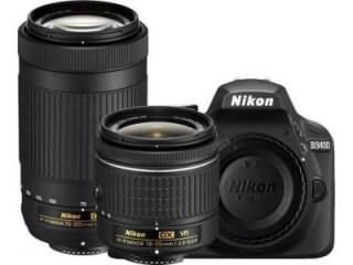 Nikon D3400 DSLR Camera (AF-P DX 18-55mm f/3.5-f/5.6G VR and AF-P DX 70-300mm f/4.5-f/6.3G ED Dual Kit Lens)