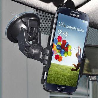 Amzer Suction Cup Windshield Mount for Samsung GALAXY S4 (95629)