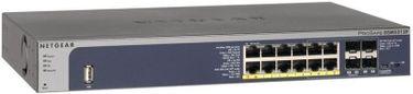 Netgear Prosafe 12-Port Gigabit L2+ with POE+ GSM5212P Managed Network Switch