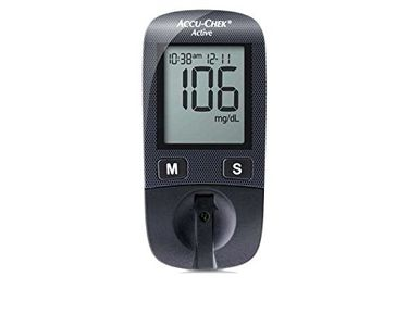 Accu-Chek Active  Glucometer (With 10 Strips)