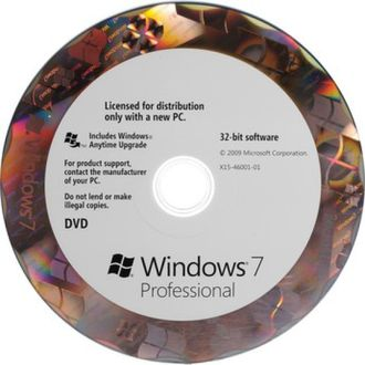 Microsoft Windows 7 Professional 32-Bit OEM Pack