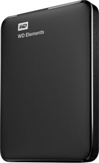 WD Elements Portable 2TB 2.5 Inch External Hard Disk